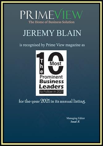 certificate_Jeremy Blain-600